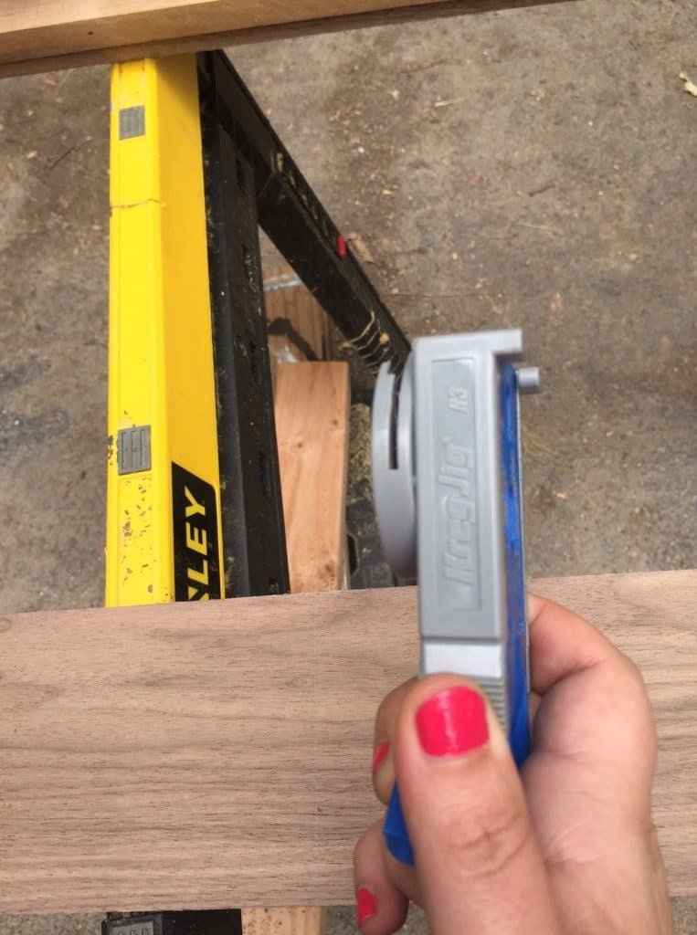 how to change kreg jig thickness