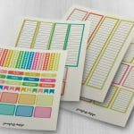July Functional Planner Stickers