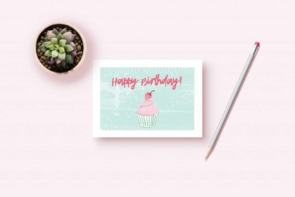 The Cutest Free Printable Birthday Card Ever Semigloss Design