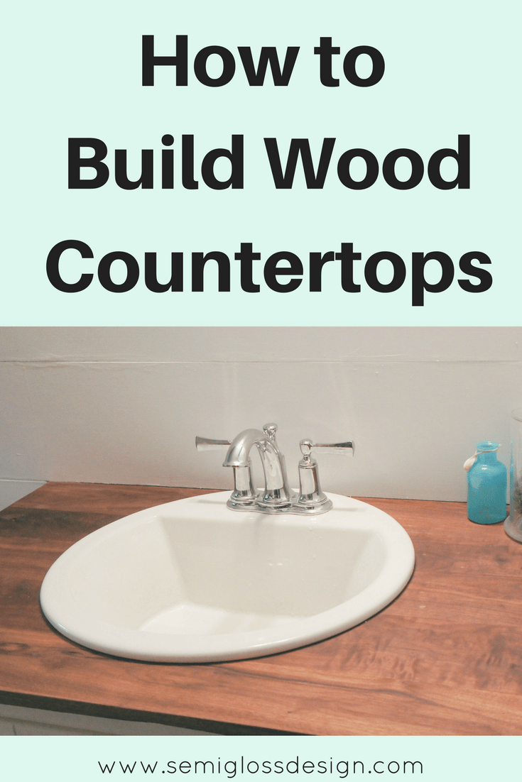 how to build a countertop frame the foolproof guide to diy wood countertops for a bathroom 498