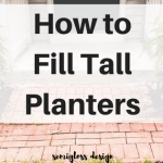 How to Fill Tall Planters (and Swap Plants Easily!)