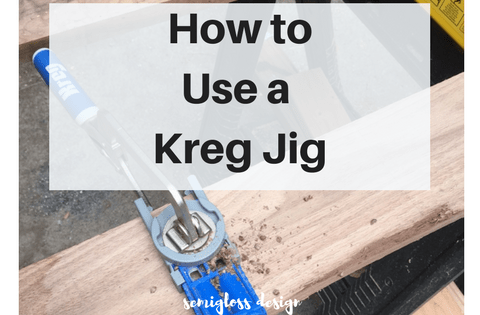how to use a kreg jig | kreg jig tips | kreg jig pocket hole | kreg jig tutorial | building with a kreg jig | kreg jig for beginners | kreg jig instructions