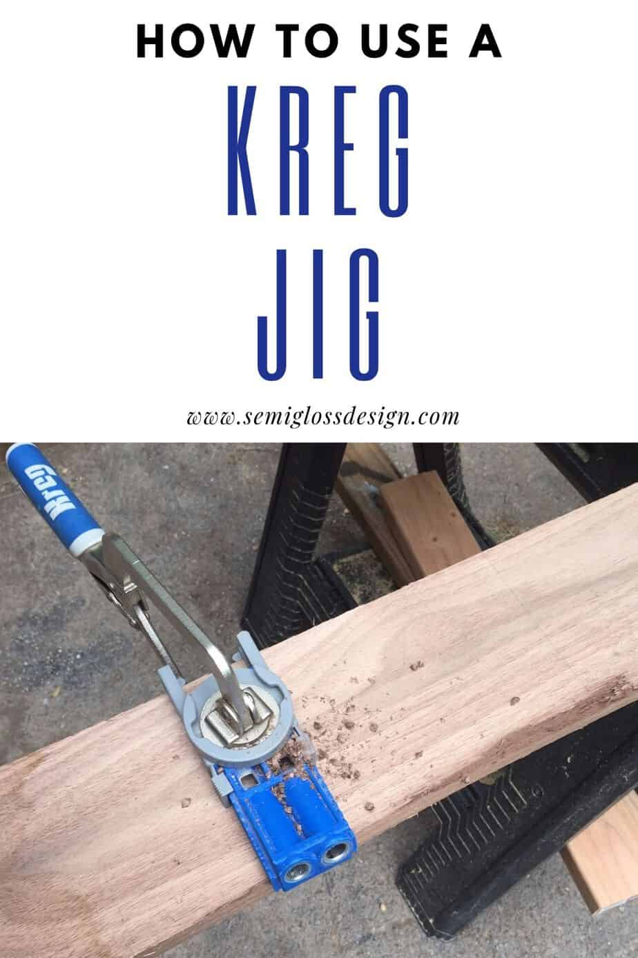 learn to use a kreg jig