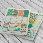 Summer Decorative Free Planner Stickers