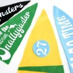 Make Your Own Vintage Style Pennant!