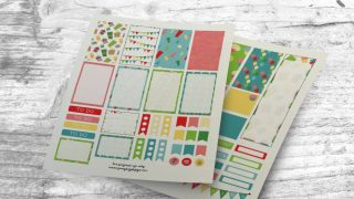 Celebrate with Happy Birthday Planner Stickers