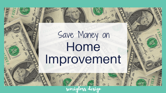 12 ways to save money on home improvement projects. DIY isn't always cheap, so it's important to make the most of your budget!
