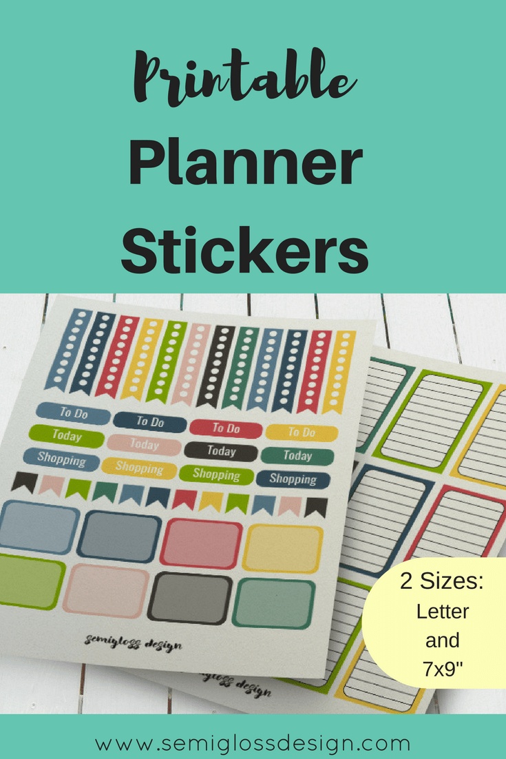 planner stickers | printable planner stickers | free printables | Big happy Planner | happy planner stickers | printable stickers
