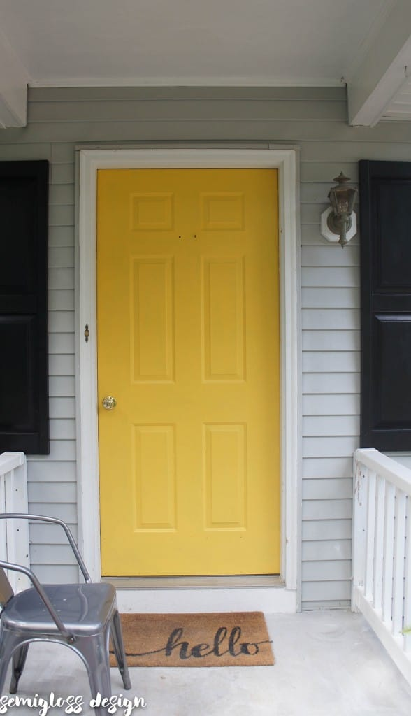 Need an instant curb appeal boost? In just a few hours, you can paint your front door and completely change how your home looks!