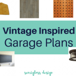 ORC Fall 2017: Vintage Inspired Garage Plans