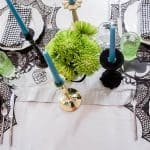 A Colorful Halloween Tablescape