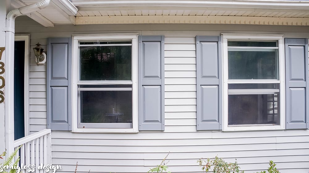 Clean your shutters