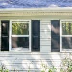 The Lazy Girl's Guide on How to Paint Vinyl Shutters