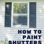 pin image - painting shutters