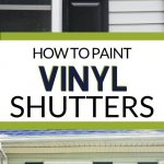 pin image - paint shutters collage