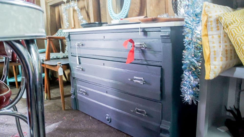 Dresser in shop