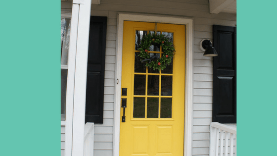 Considering buying a new front door? Here's some things to think about. #curbappeal #frontdoors #frontdoorideas #homeimprovement