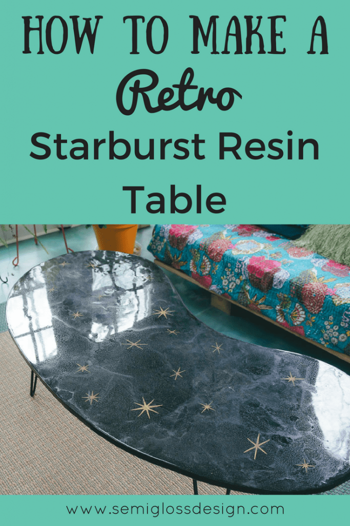 Make your own retro DIY coffee table. This easy DIY table is unique and quirky, perfect for people who love vintage furniture.