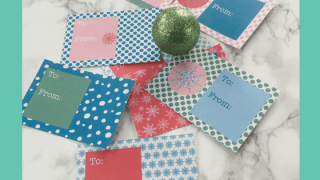 Printable Snowflake Gift Tags for Presents