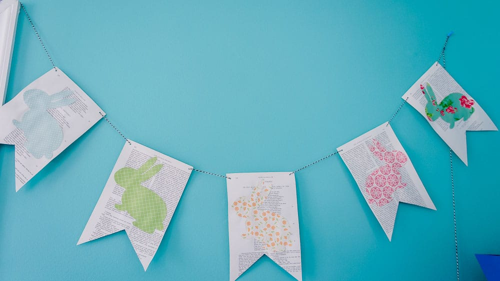 Decorate for Spring with a DIY Easter Banner