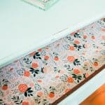 How to Add DIY Drawer Liners to Furniture