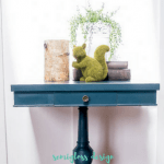 Beautiful Painted Side Table Makeover