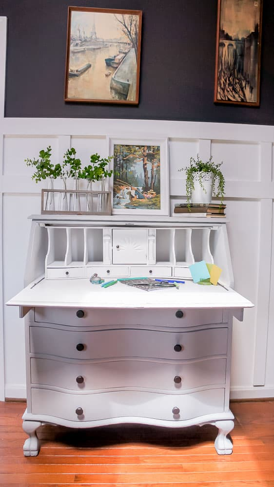 secretary desk without hutch