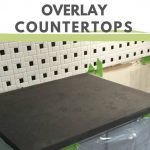pin image - concrete overlay countertops