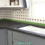 How to Install Concrete Overlay Countertops for Less than $100*