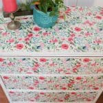 How to Decoupage on Wood Furniture: Floral Decoupage Dresser