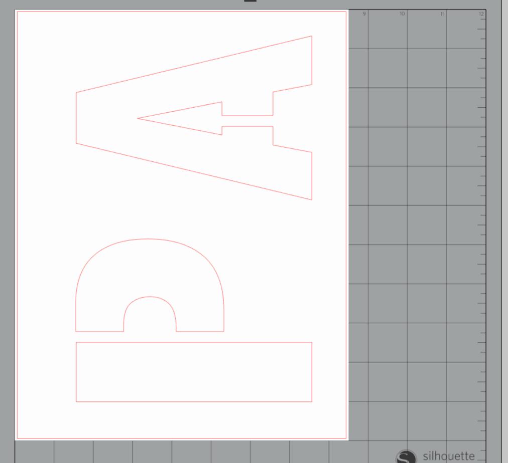 P and A stencil