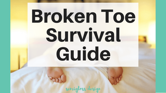 So you broke your toe. Now what? Learn what to do if you break your toe, advice beyond the medical scope of a broken bone.