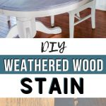 pin image - gray driftwood table collage