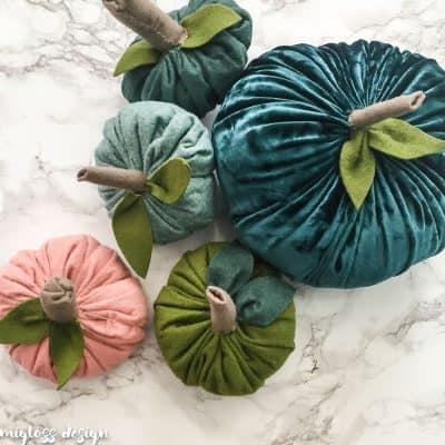 How to Make Felt Pumpkins
