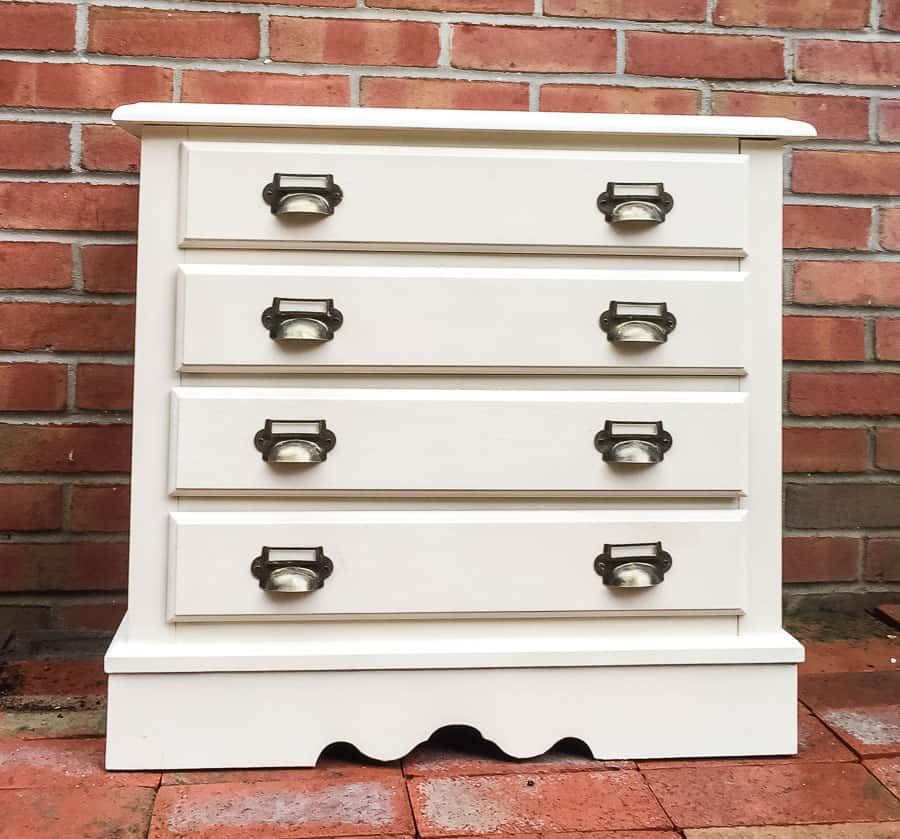 card catalog inspired dresser