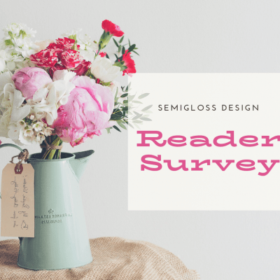 I Need Your Help: Reader Survey
