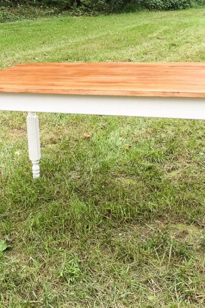 Easy to Build DIY Kitchen Table