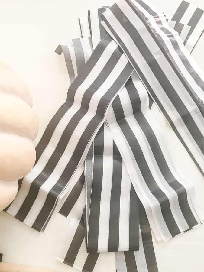 cut stripes into strips