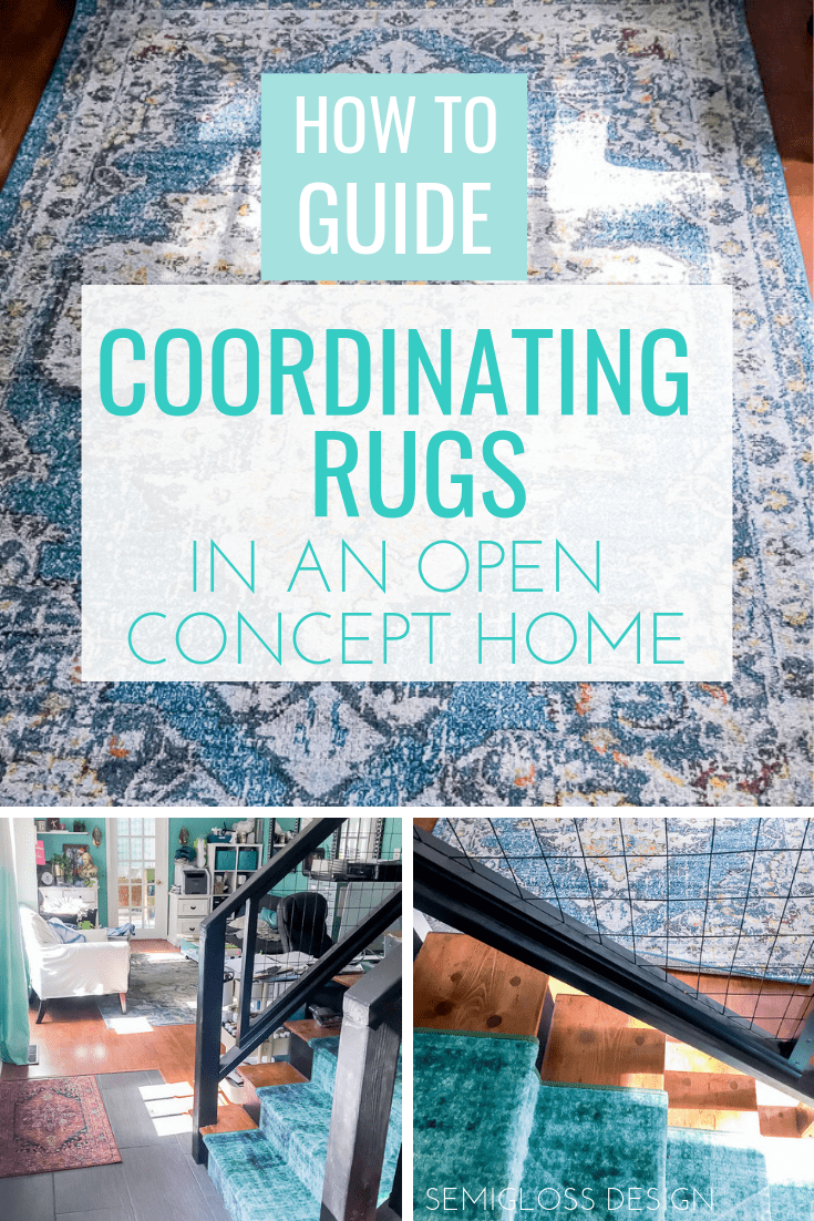 How to coordinate rugs