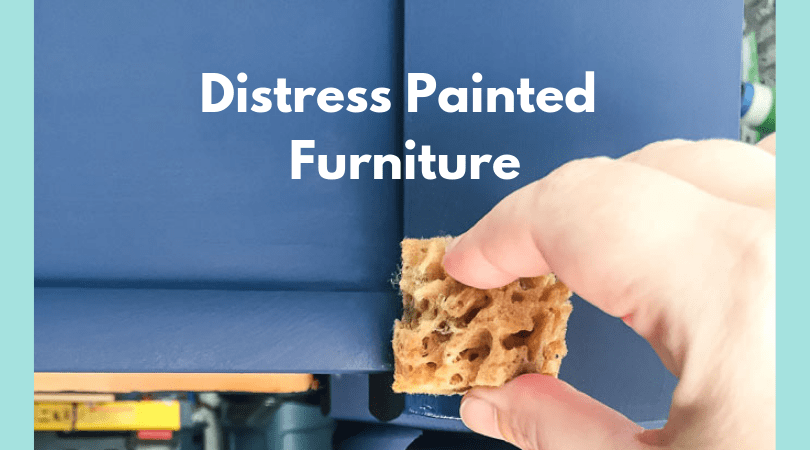 distress painted furniture