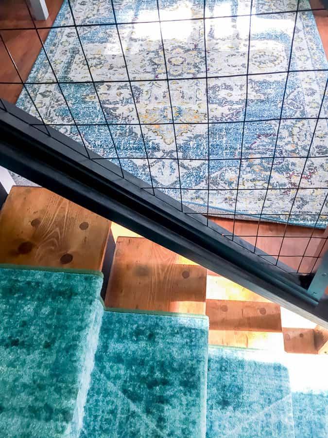 Coordinating rugs
