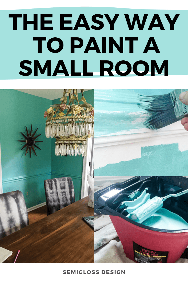 The easy way to paint a small room