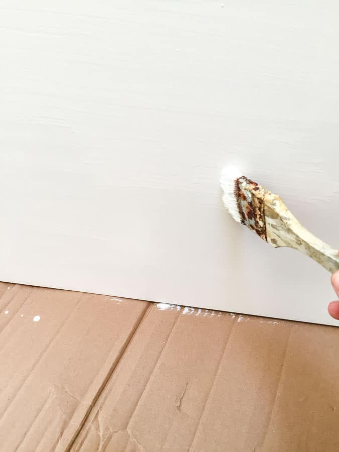 priming ikea furniture