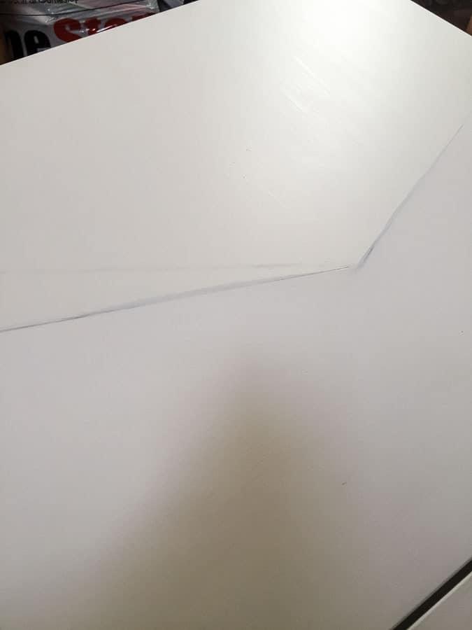 painting besta cabinet