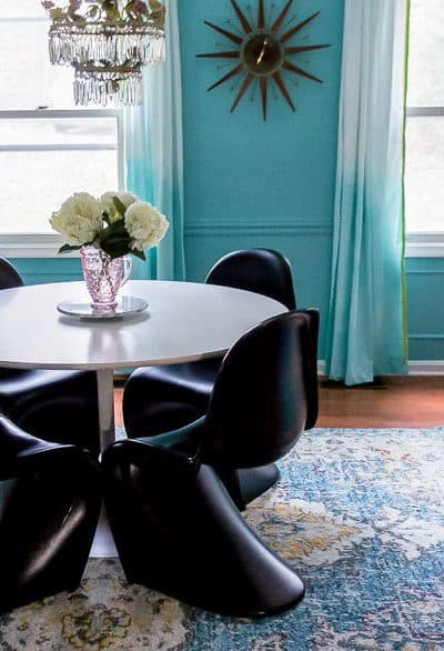 Modern Dining Room Makeover Reveal