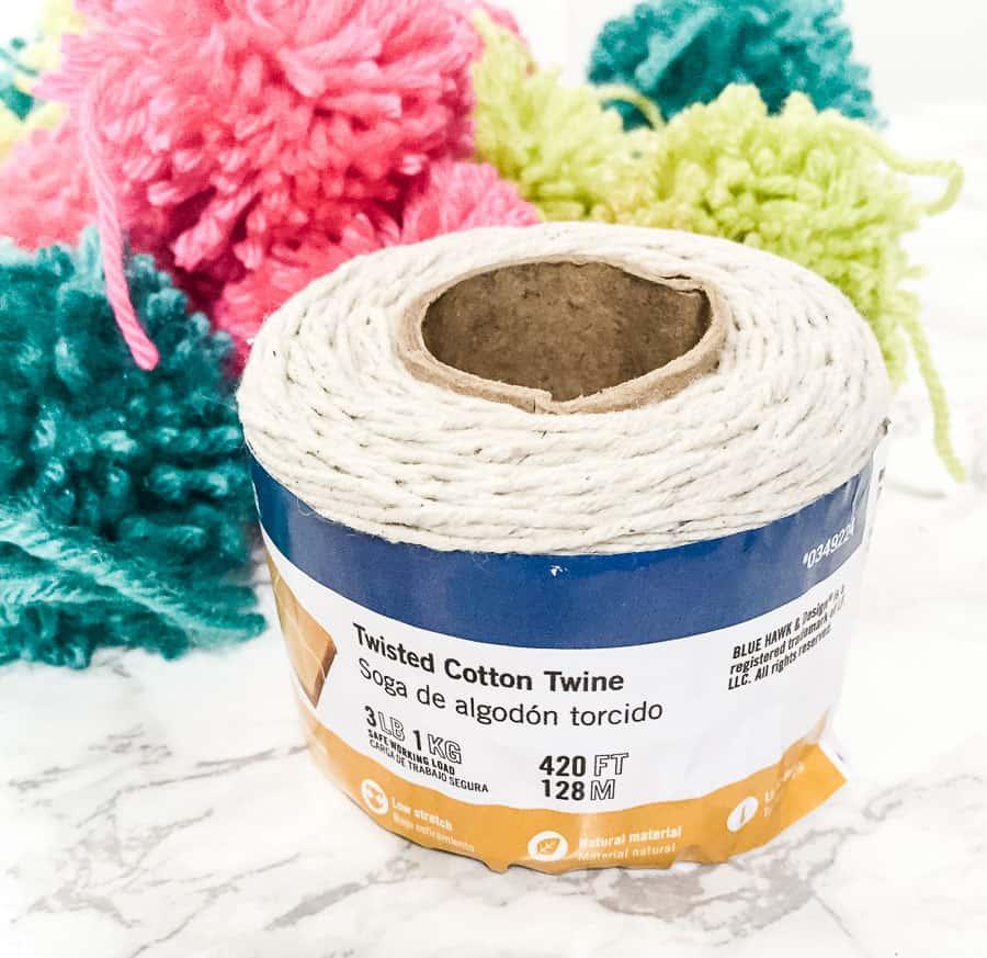 rope for pom pom garland