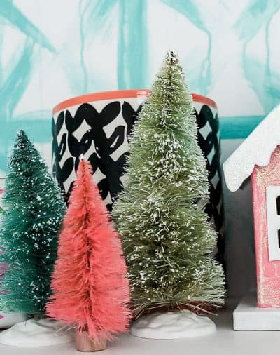 2018 Christmas Home Tour: Colorful and Vintage