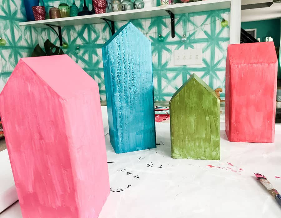 paint houses in fun color