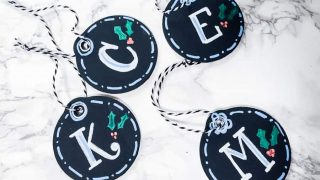 Learn How to Make Stocking Name Tags with Chalk Markers