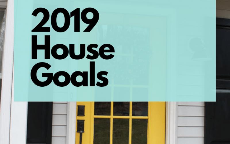 2019 house goals